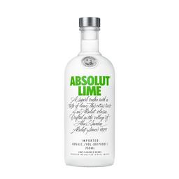 Vodka Absolut Lime Suecia 750Ml