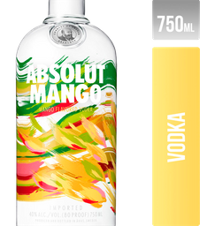 Vodka Absolut Mango Suecia 750Ml