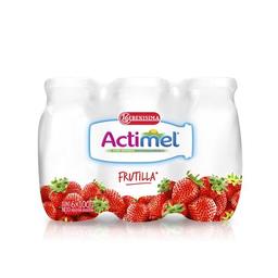 Leche Fermentada Actimel Frutilla 600 Ml