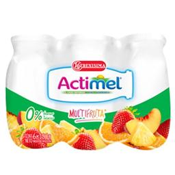 Leche Fermentada Actimel Multifruta 600 Ml 0%