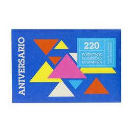 Fosforos Aniversario Cja 220 Uni