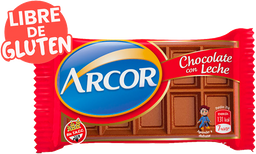 Chocolate Arcor Con Leche Tab