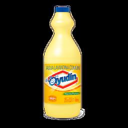 Lavandina Liquida Ayudín Máxima Pureza Botella 1 L