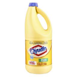 Lavandina Liquida Ayudín Máxima Pureza Botella 2 L
