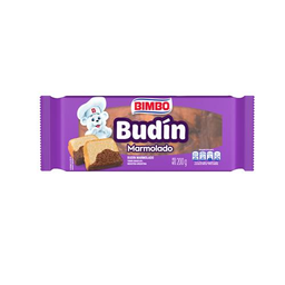 Budin Marmolado Bimbo Paq 200 Gr