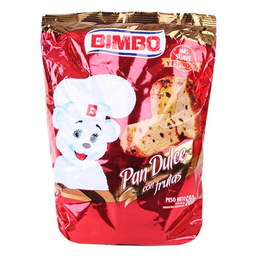Pan Dulce C/Frutas Bimbo Paq 400 Gr