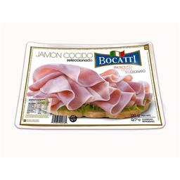 Jamon Cocido Bocatti Natural Feteado Bli 130 Gr