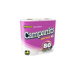 Campanita Papel Higiénico Soft Plus Xl Simple Hoja Paquete