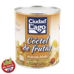 2 u Ciudad Del Lago Coctel De Frutas Lata