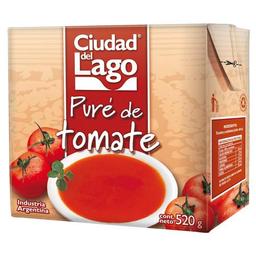 Pure De Tomate Ciudad Del Lago Tetrabrik 520 Gr