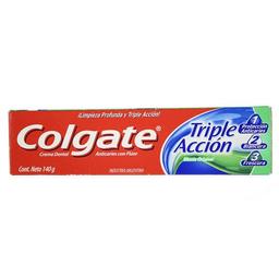 Crema Dental Triple Accion Colgate Cja 140 Gr