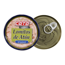 Atun Al Natural Coto Lomitos Lata 165 Gr