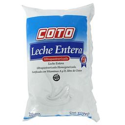Leche Entera Ultrapas Coto Sch 1 L