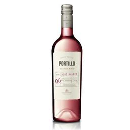 El Portillo Vino Malbec Rosado Bot