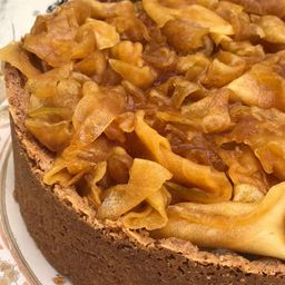 Torta Manzanas Acarameladas