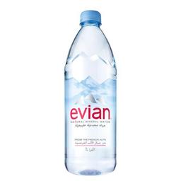 Evian Agua Mineral Botella