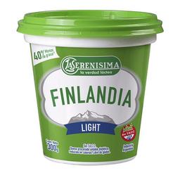 Queso Untable Light Vit A/D Finlandia Pot 300 Gr