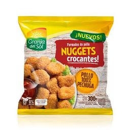 Nuggets Crocantes Granja Del Paq 300 Gr