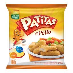 Patitas Pollo Granja Del Bsa 400 Gr