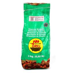 Briquetas de Carbón Grill