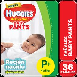 Pañal Baby Pants T:P Huggies Paq 36 Uni