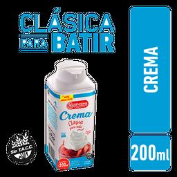Crema La Serenisima para Batir Tetra Top 200 cm3