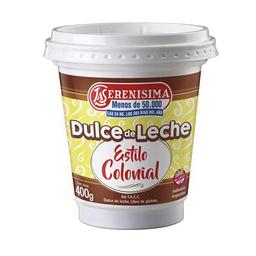 Dulce Leche Est/Colon F. C La Serenisi Pot 400 Gr