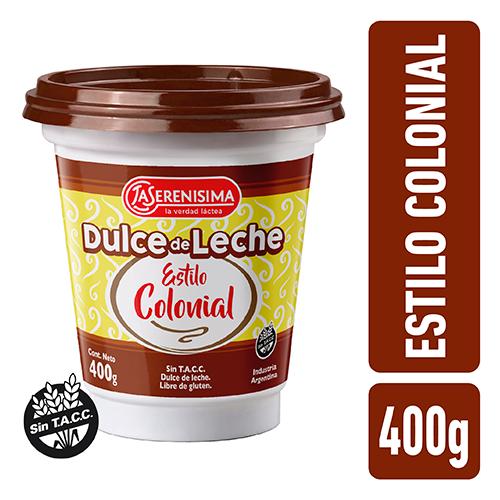 Dulce de Leche La Serenisima Colonial Pote