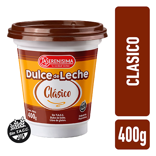 Dulce de Leche La Serenisima Clasico Pote