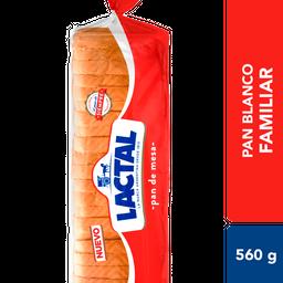 Pan De Mesa Lactal Bsa 560 Gr