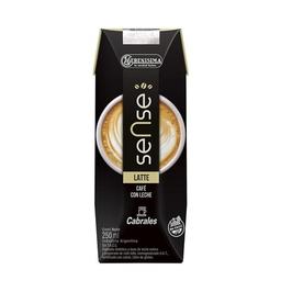 Leche Entera Lv Sense Latte Ls Ttb 250 Ml