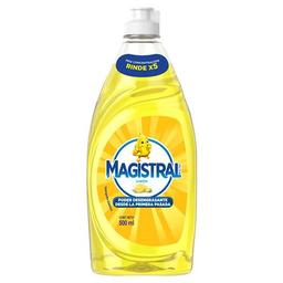 Magistral Ultra Limón Detergente Sintético 500ml