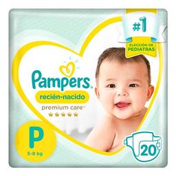 Pampers Premium Care Pañales Desechables P 20 Unidades