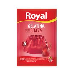 Royal Gelatina Cereza