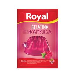 Royal Gelatina Frambuesa