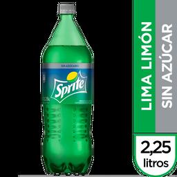 Gaseosa Sprite Sin Azúcar Botella 2.25 L