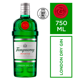 Tanqueray London Dry Gin Ebra