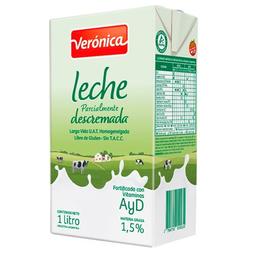Leche Descremada Lv Veronica Ttb 1 L