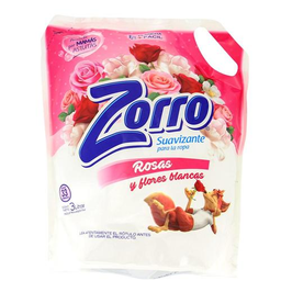Zorro Suavizante P/Ropa Rosas Y Flores Doy