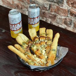 Combo Fried Pizza Sticks & 2 Bebidas