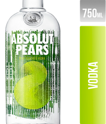 Vodka Absolut Pears Suecia 750Ml