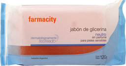 Combo 2U Jabon De Glicerina Farmacity X 120G
