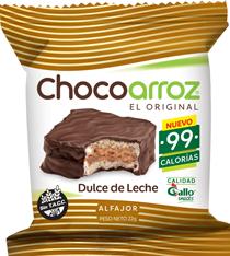 Combo 3U Alf Chocoarroz Sabor  Dulce De Leche X 25 G
