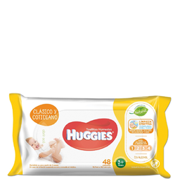 Combo 2U Toall Hum Huggies Clasico Y Cotidiano X48