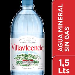 Agua Villavicencio Sin Gas