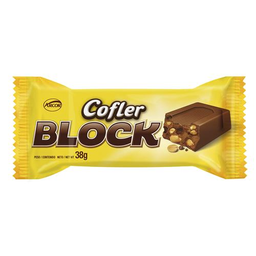 Cofler Block Chocolate Con Leche Y Mani Tab.X 38Gr