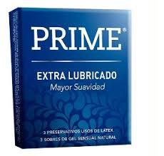 Preservativo Prime Extra Lubricado Caja X 3 Unid.