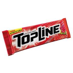 Chicle Topline Sin Azucar Fruta Tableta X 6.7 Gr