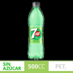 Gaseosa 7Up Sin Azucar 500Ml