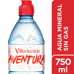 Agua  Villavicencio Sin Gas 750 Ml Sport
